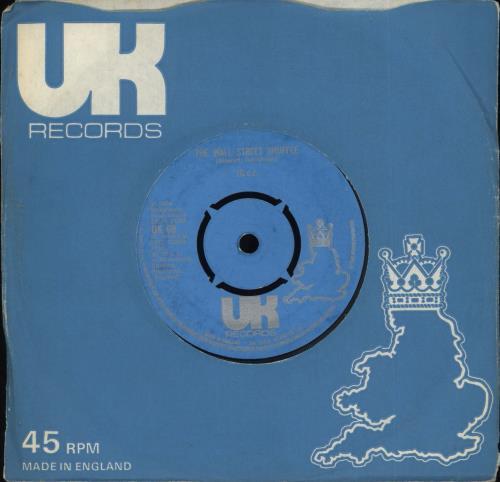 "10cc The Wall Street Shuffle 7"" vinyl single (7 inch record) UK 10C07TH242397"