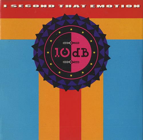 "10 DB I Second That Emotion CD single (CD5 / 5"") UK 102C5IS441562"