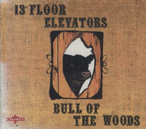 13th Floor Elevators Bull Of The Woods CD album (CDLP) UK 13FCDBU288157