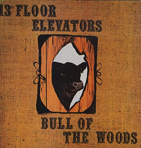 13th Floor Elevators Bull Of The Woods vinyl LP album (LP record) Portugese 13FLPBU312222