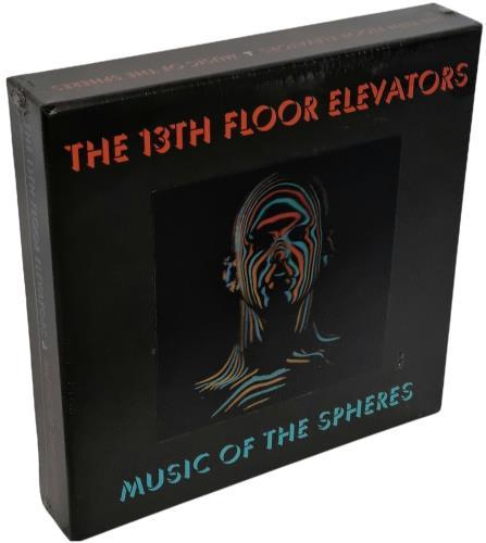 13th Floor Elevators Music Of The Spheres - Sealed Vinyl Box Set UK 13FVXMU749012
