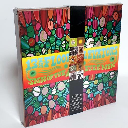 13th Floor Elevators Sign Of The 3 Eyed Men - sealed CD Album Box Set UK 13FDXSI762448