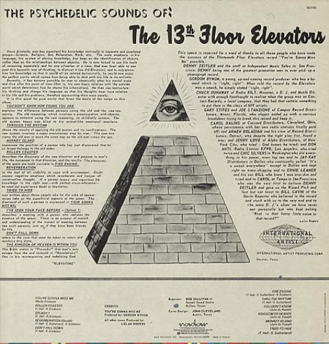 13th Floor Elevators The Psychedelic Sounds Of Greek Vinyl