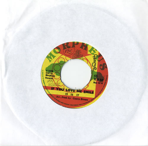 "15 16 17 If You Love Me Smile 7"" vinyl single (7 inch record) Jamaican 11C07IF560234"