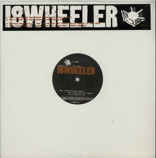 """18 Wheeler The Hours And The Times 12"""" vinyl single (12 inch record / Maxi-single) UK 18W12TH628325"""