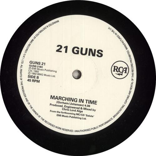 "21 Guns Knee Deep 12"" vinyl single (12 inch record / Maxi-single) UK GU112KN740042"