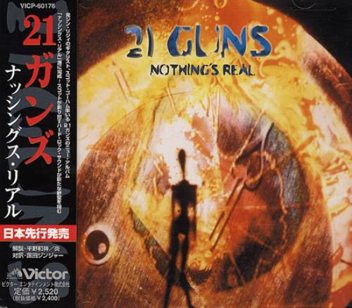 21 Guns Nothing's Real CD album (CDLP) Japanese GU1CDNO365378