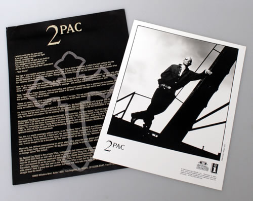 2Pac Me Against The World US Promo media press pack (550988