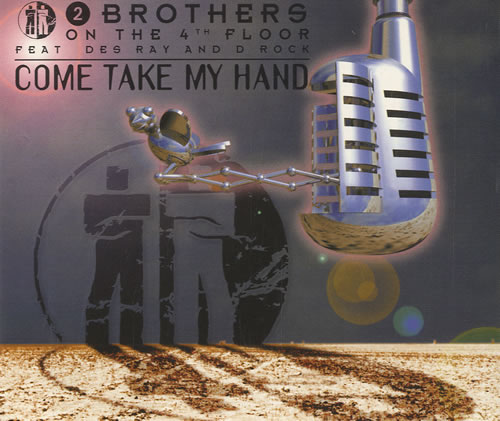 """2 Brothers On The Floor Come Take My Hand CD single (CD5 / 5"""") Dutch 2BRC5CO449215"""