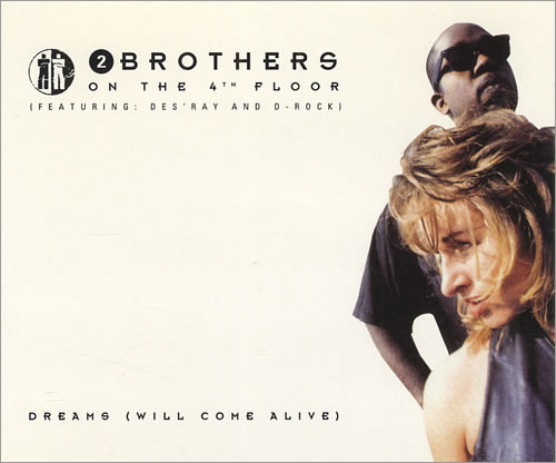 """2 Brothers On The Floor Dreams (Will Come Alive) CD single (CD5 / 5"""") UK 2BRC5DR432486"""