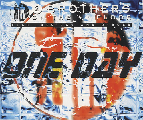 "2 Brothers On The Floor One Day CD single (CD5 / 5"") Dutch 2BRC5ON449552"