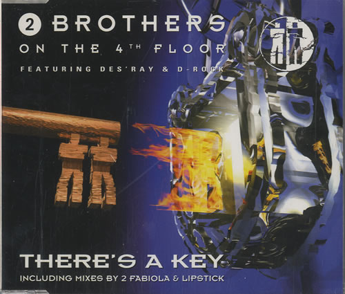 """2 Brothers On The Floor There's A Key CD single (CD5 / 5"""") Dutch 2BRC5TH449415"""