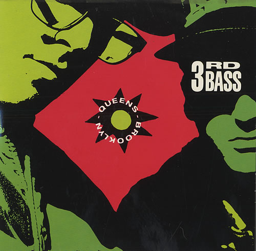"3rd Bass Brooklyn Queens CD single (CD5 / 5"") UK 3RDC5BR441346"