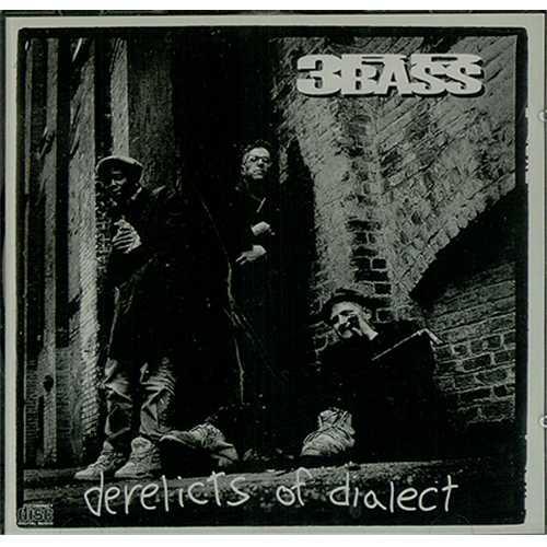 3rd Bass Derelicts Of Dialect CD album (CDLP) UK 3RDCDDE407183