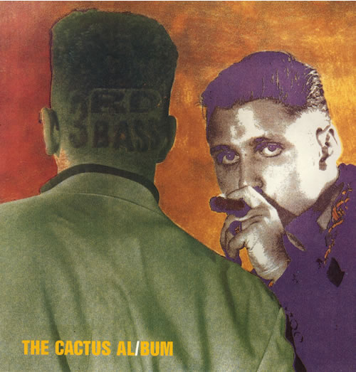 3rd Bass The Cactus Album vinyl LP album (LP record) UK 3RDLPTH557697