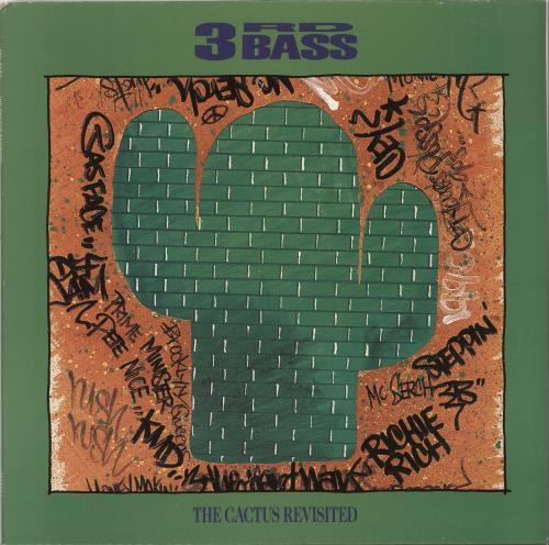 3rd Bass The Cactus Revisited vinyl LP album (LP record) Dutch 3RDLPTH701154