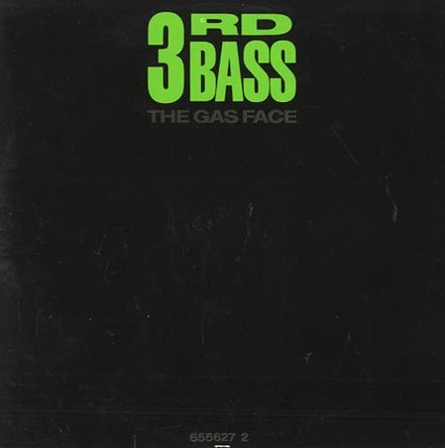 "3rd Bass The Gas Face CD single (CD5 / 5"") UK 3RDC5TH436556"