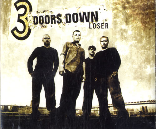 "3 Doors Down Loser CD single (CD5 / 5"") UK 3DDC5LO538767"