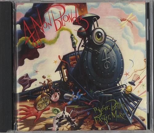 4 Non Blondes Bigger, Better, Faster, More CD album (CDLP) German 4NBCDBI447269