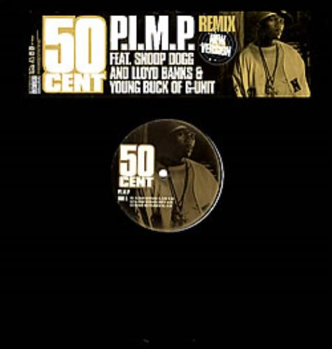 50 Cent P I M P Remix Us Promo 12 Vinyl Single 12 Inch Record Maxi Single 283180