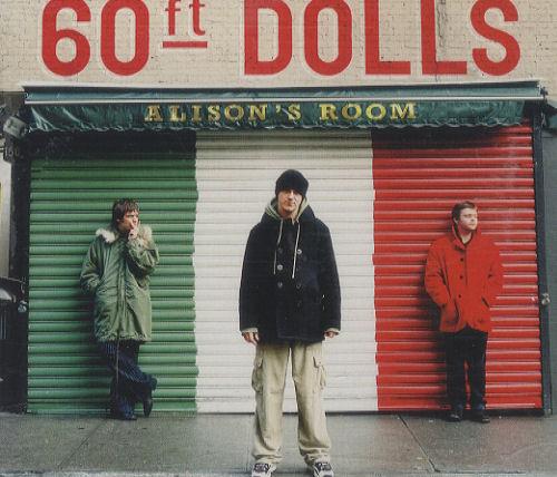 "60ft Dolls Alison's Room CD single (CD5 / 5"") UK 60FC5AL293681"