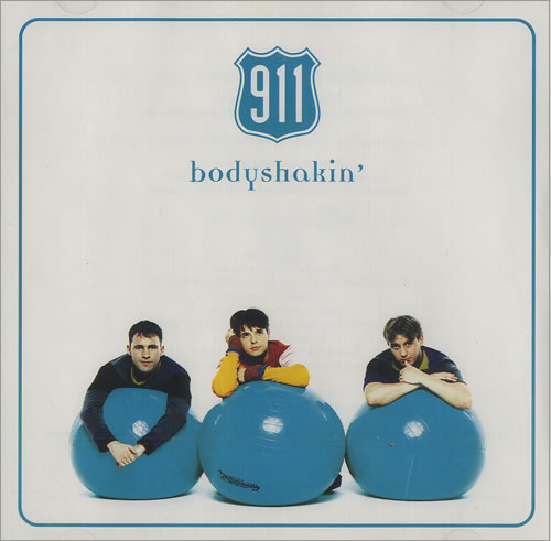 "911 Bodyshakin' CD single (CD5 / 5"") UK 911C5BO160278"