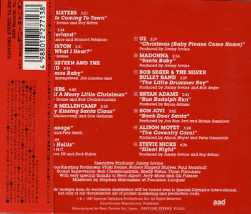 A M Records A Very Special Christmas Japanese Cd Album Cdlp 357272