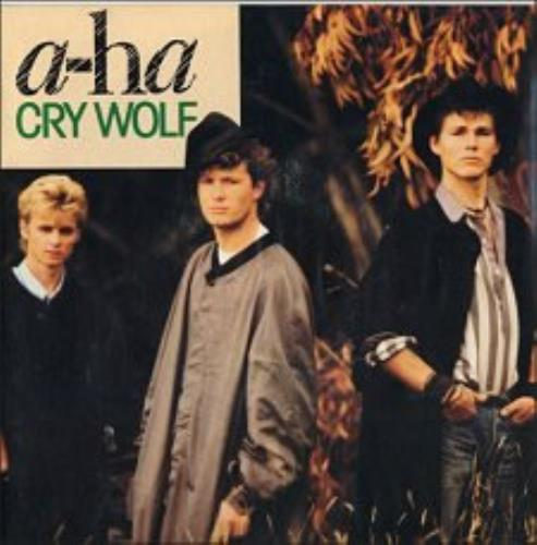 "A-Ha Cry Wolf 7"" vinyl single (7 inch record) French AHA07CR38395"