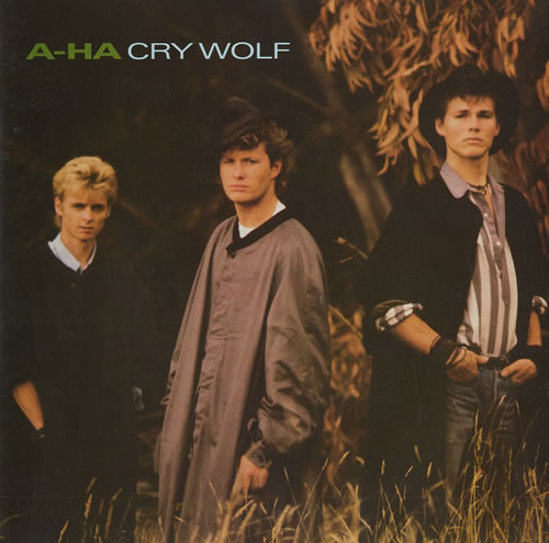 "A-Ha Cry Wolf 7"" vinyl single (7 inch record) UK AHA07CR38396"