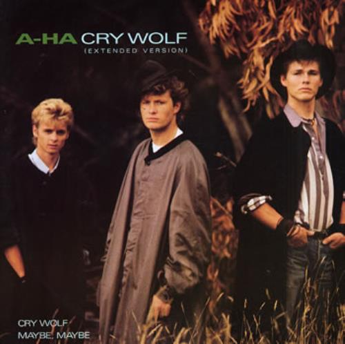 "A-Ha Cry Wolf 12"" vinyl single (12 inch record / Maxi-single) UK AHA12CR38408"