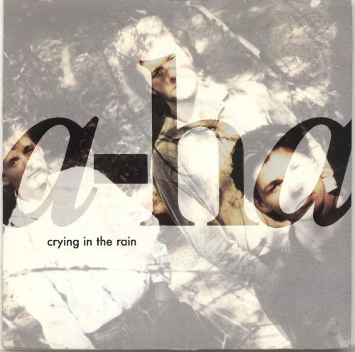 "A-Ha Crying In The Rain 7"" vinyl single (7 inch record) UK AHA07CR38388"