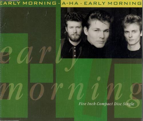 """A-Ha Early Morning CD single (CD5 / 5"""") UK AHAC5EA17885"""