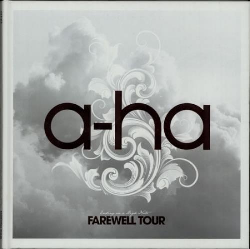 A-Ha Ending On A High Note: Farewell Tour tour programme UK AHATREN641205