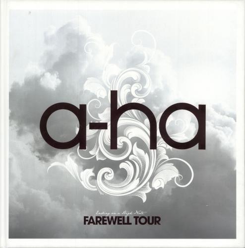 A-Ha Ending On A High Note: Farewell Tour book UK AHABKEN742982