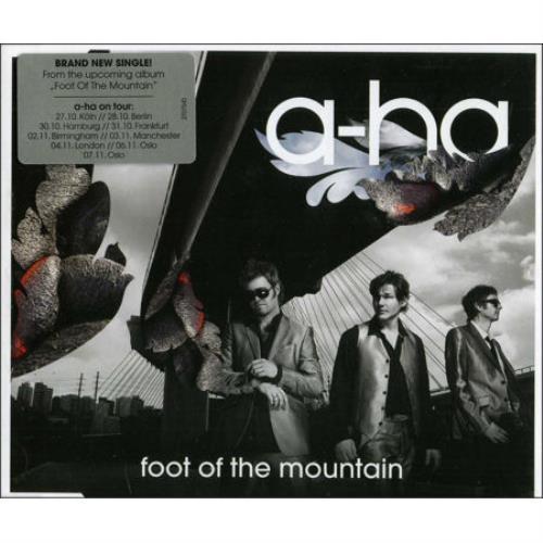"A-Ha Foot Of The Mountain CD single (CD5 / 5"") German AHAC5FO478440"