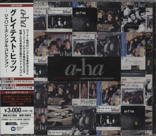 A-Ha Greatest Hits - Japanese Singles Collection 2-disc CD/DVD set Japanese AHA2DGR745555