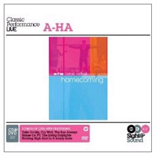 A-Ha Homecoming: Live 2-disc CD/DVD set UK AHA2DHO440586