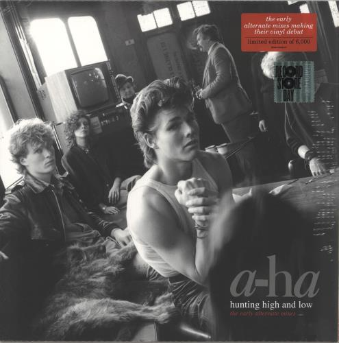 A-Ha Hunting High And Low (The Early Alternative Mixes) - RSD19 - Sealed vinyl LP album (LP record) UK AHALPHU718436