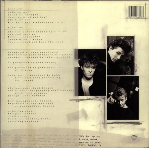 A-Ha Hunting High And Low - 140gram Clear Vinyl - Sealed vinyl LP album (LP record) UK AHALPHU699557