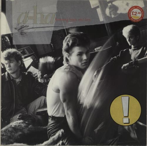 A-Ha Hunting High And Low vinyl LP album (LP record) UK AHALPHU578970