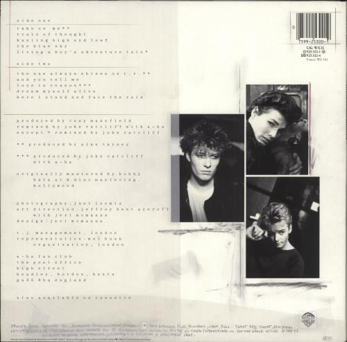 A-Ha Hunting High And Low vinyl LP album (LP record) UK AHALPHU718966