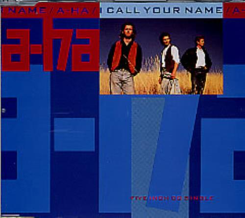 "A-Ha I Call Your Name CD single (CD5 / 5"") UK AHAC5IC18424"