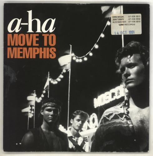 "A-Ha Move To Memphis 7"" vinyl single (7 inch record) UK AHA07MO05908"