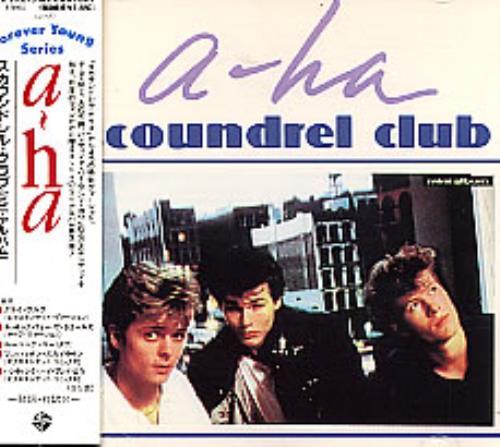 "A-Ha Scoundrel Club CD single (CD5 / 5"") Japanese AHAC5SC20187"