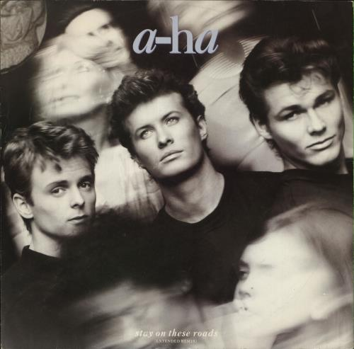 "A-Ha Stay On These Roads 12"" vinyl single (12 inch record / Maxi-single) UK AHA12ST19205"