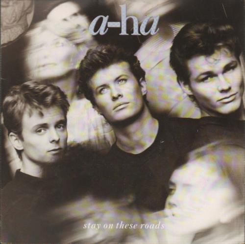 "A-Ha Stay On These Roads 7"" vinyl single (7 inch record) UK AHA07ST38392"