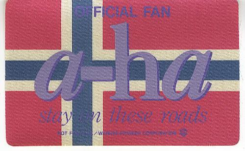 A-Ha Stay On These Roads vinyl LP album (LP record) Japanese AHALPST44412
