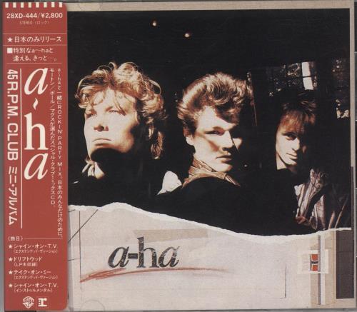 """A-Ha The 45 Rpm Club - 1st Issue CD single (CD5 / 5"""") Japanese AHAC5TH60123"""