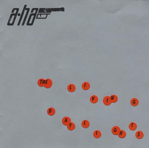 "A-Ha The Living Daylights - Gatefold 7"" vinyl single (7 inch record) UK AHA07TH16082"