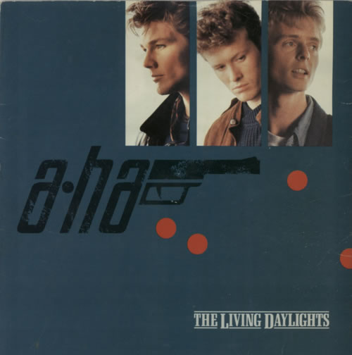 "A-Ha The Living Daylights - injection 7"" vinyl single (7 inch record) UK AHA07TH617379"